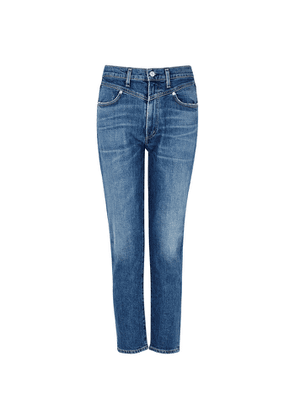 Citizens Of Humanity Mia Blue Slim-leg Jeans