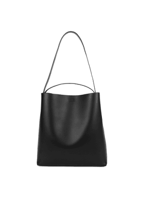 Aesther Ekme Sac Large Black Leather Tote