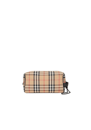 Burberry Vintage Check Travel Pouch