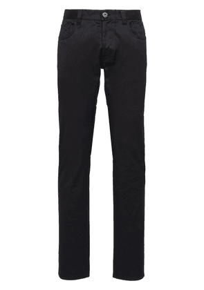 Prada five-pocket straight jeans - Black