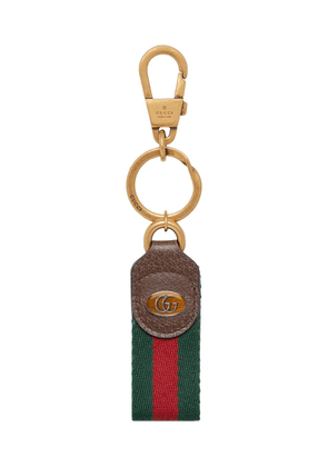 Gucci Ophidia web keychain - Red
