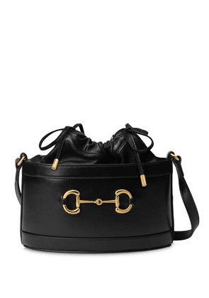 Gucci Gucci Horsebit 1955 bucket bag - Black