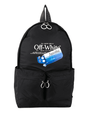 Off-White graphic-print backpack - Black