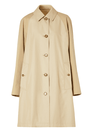 Burberry two-tone reconstructed car coat - Neutrals