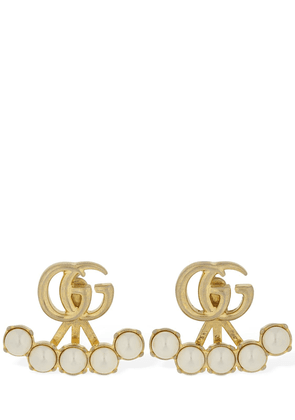 Gg Marmont Imitation Pearl Earrings