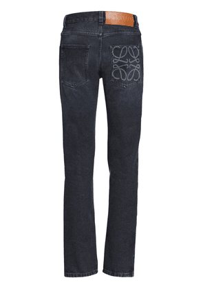 Logo Cotton Denim Jeans