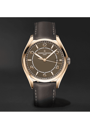 Vacheron Constantin - Fiftysix Automatic 40mm Pink Gold and Leather Watch, Ref. No. 4600E/000R-B576 - Men - Brown