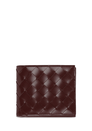 Intrecciato Brushed Leather Wallet