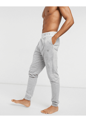 Le Breve lounge joggers co-ord in grey marl