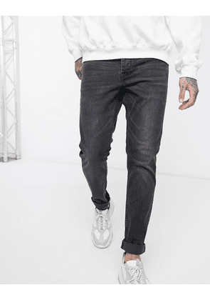 Dr Denim Clark slim jeans-Black