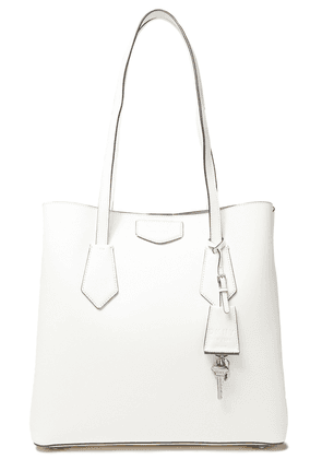 Dkny Sullivan Large Textured-leather Tote Woman White Size --