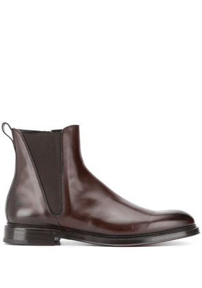 Dolce & Gabbana Chelsea ankle boots - Brown