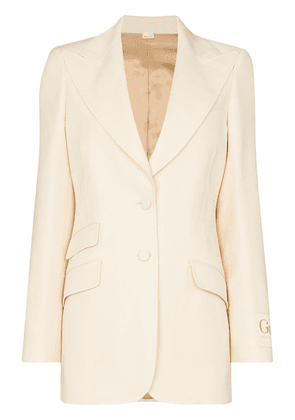 Gucci tailored single-breasted blazer - Neutrals