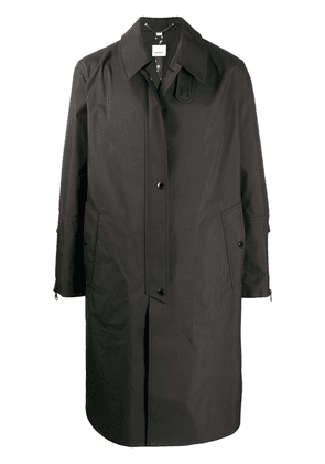 Burberry military-style coat - Black