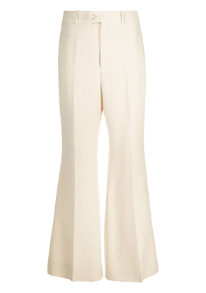 Gucci flared tailored trousers - Neutrals