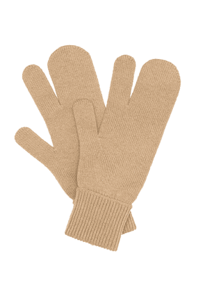 Tabi wool and cashmere gloves