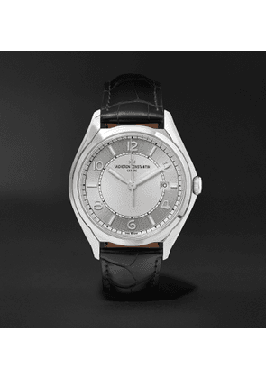 Vacheron Constantin - Fiftysix Automatic 40mm Stainless Steel and Alligator Watch, Ref. No. 4600E/000A-B442 - Men - Silver