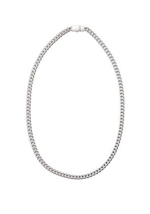 Tom Wood - Rounded Curb-chain Sterling-silver Necklace - Mens - Silver