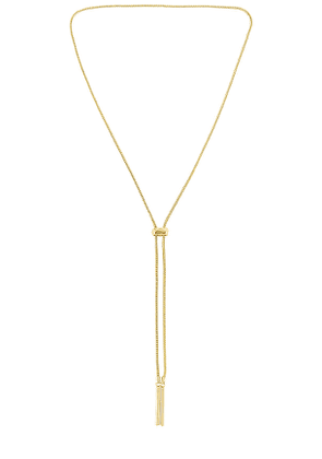 Uncommon James Thin Air Necklace in Metallic Gold.