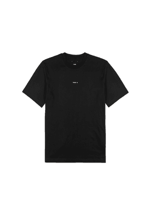OAMC Black Logo Cotton T-shirt