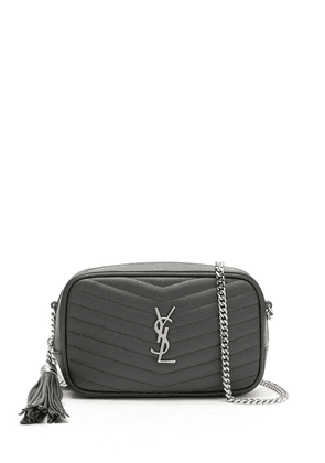 Saint Laurent mini Lou bag - Grey