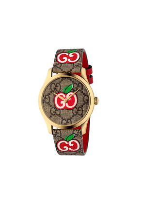 Gucci G-Timeless Chinese Valentine's Day watch - Brown