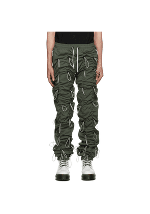 99% IS Khaki and Off-White Gobchang Lounge Pants