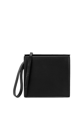 Aesther Ekme Pouch Black Leather Clutch Bag