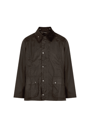 Barbour Bedale Dark Olive Waxed Cotton Jacket