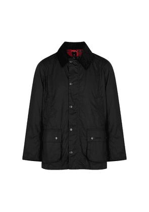Barbour Ashby Black Waxed Cotton Jacket