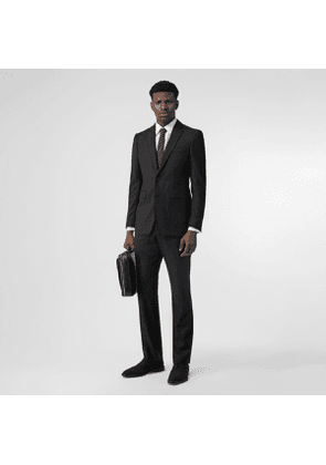 Burberry Classic Fit Wool Suit, Black