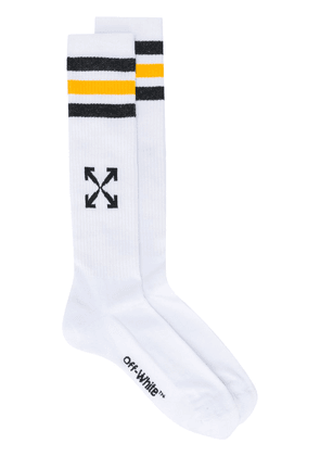 Off-White Arrows mid-length socks - Black