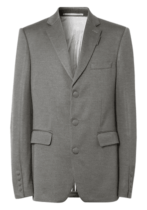 Burberry single-breasted tailored blazer - Grey