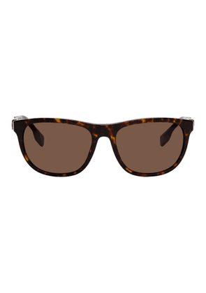 Burberry Tortoiseshell Square Sunglasses