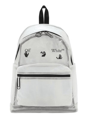 Logo Printed Tech Backpack