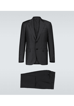 Milano Easy slim-fit checked suit