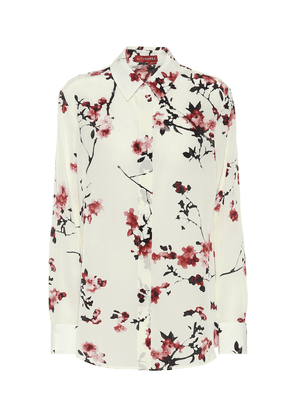 Chika floral silk blouse