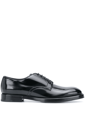 Dolce & Gabbana leather lace-up shoes - Black