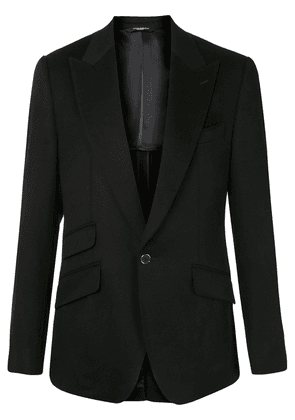 Dolce & Gabbana single button cashmere blazer - Black