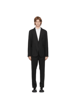 Paul Smith Black Wool Washable Suit