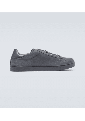 Exclusive to Mytheresa - low top suede sneakers