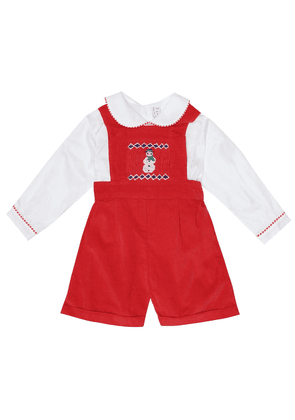 Baby cotton playsuit
