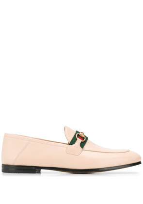 Gucci Web detail loafers - Neutrals