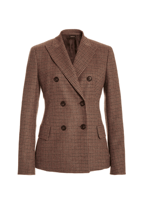 Akris Gala Double-Breasted Cashmere Blazer