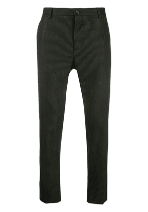 Dolce & Gabbana pinstriped tailored trousers - Black