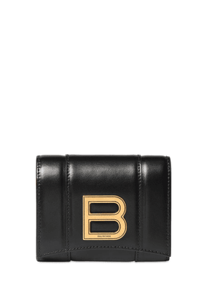 Hour Compact Leather Wallet
