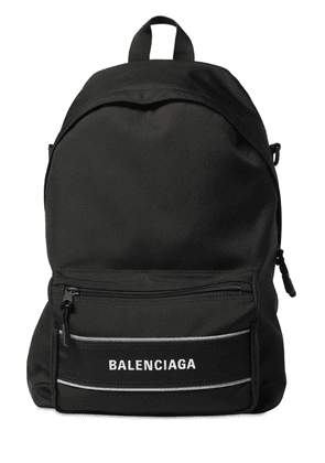 Logo Nylon Backpack W/ Mono Strap