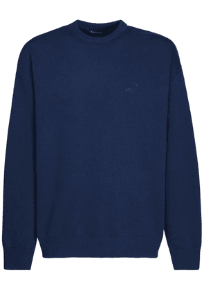 Logo Wool & Cashmere Sweater