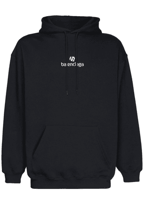 Logo Embroidery Cotton Hoodie