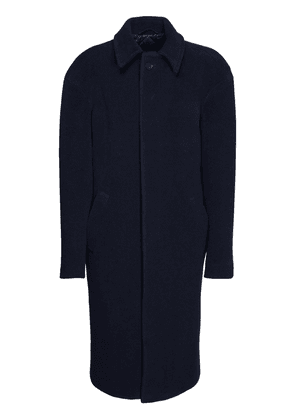Brushed Wool Long Coat